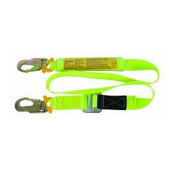 TEAR WEB 2MTR SHOCK ADJUSTABLE LANYARD BSM007 HOOKS