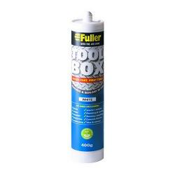 FULLERS TOOL BOX WHITE ADHESIVE & SEALANT
