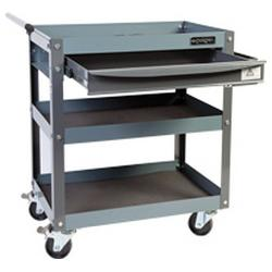 GEIGER HEAVY DUTY PARTS TROLLEY 3 SHELF 1 DRAW GT3SD