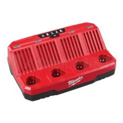 MILWAUKEE M12 4 BAY CHARGER M12C4