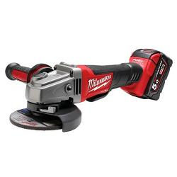 MILWAUKEE 18V 125MM BRUSHLESS ANGLE GRINDER KIT 2X5.0AH