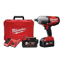 MILWAUKEE 18V SUPER HIGH TORQUE 3/4 INCH DRIVE IMPACT WRENCH 5 AH KIT