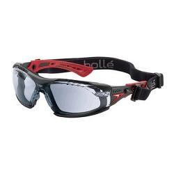 BOLLE RUSH PLUS PLATINUM CLEAR WITH GASKET / STRAP 1662301FB