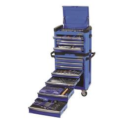 KINCROME 329 PCE 15 DRAWER TOOL KIT K1501 BLUE