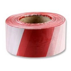 FRONTIER BARRIER SAFETY TAPE RED / WHITE 50MX75MM
