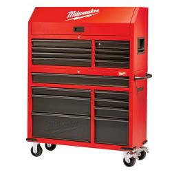 MILWAUKEE 46IN ROLLING STEEL STORAGE CHEST & CABINET 48228500