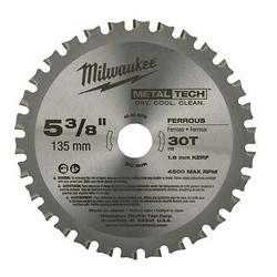 MILWAUKEE COLD CUT BLADE 135MM 30T FERROUS METAL 48404070