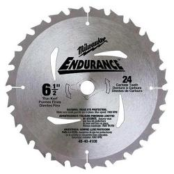MILWAUKEE CIRCULAR SAW BLADE 24T 165MM 48404108