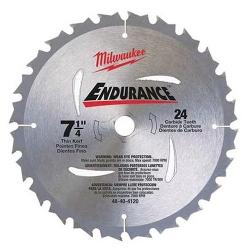 MILWAUKEE 185MMX24T CIRCULAR BLADE 48404120