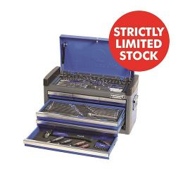 KINCROME 112PCE TOOL KIT WITH 6 DRAW TOP BOX K1622