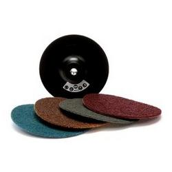 NTD QUICK-LOC SURFACE COND DISC 50MM COARSE BROWN 5 PACK AB50BROWNP