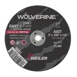 NTD TIGER CUT OFF DISC 75 MM X 0.89 MM X 1/4 INCH ULTRA THIN AB56061P 5 PAC