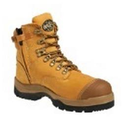 OLIVER SAFETY BOOTS LACE UP WHEAT SIZE9 55232