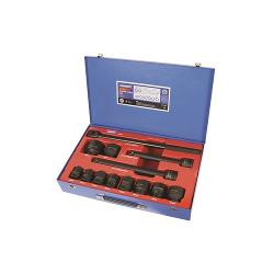 KINCROME IMPACT SOCKET SET 13PC 3/4 INCH DR MET K2070