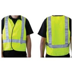 YELLOW SAFETY VEST DAY / NIGHT X LARGE