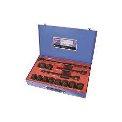 KINCROME IMPACT SOCKET SET 13PC 3/4 INCH DR A/F K2071