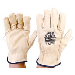LEATHER RIGGER GLOVES XL