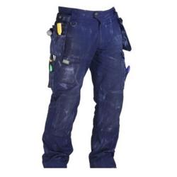 RIPSTOP WORKPANTS NAVY SIZE44