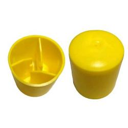 YELLOW STAR PICKET SAFETY CAP