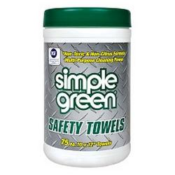 SIMPLE GREEN SAFETY TOWELS 250 X300 75SHT