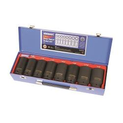KINCROME DEEP IMPACT SOCKET SET 8PC 3/4 INCH DVE A/F K2081