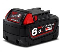 MILWAUKEE 18V 6.0AH BATTERY M18B6