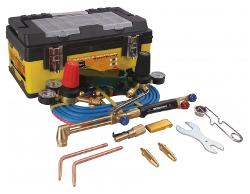 BOSSWELD OXY ACETYLENE STARTER  KIT WITH ARRESTORS 400001FBA