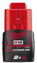 MILWAUKEE 12V 2.0AH BATTERY M12B2