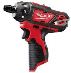 MILWAUKEE 12V 1/4 HEX DRILL SCRERW DRIVER SKIN M12BD-0