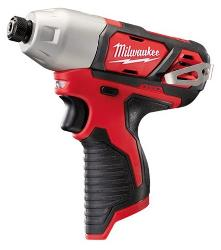 MILWAUKEE 12V 1/4 HEX IMPACT DRIVER M12BID-0