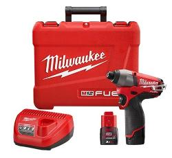 MILWAUKEE 12V BRUSHLESS IMPACT DRIVER KIT 2X3.0AH
