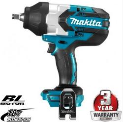 MAKITA 18V 1/2 INCH DRIVE SUPER HIGH TORQUE IMPACT WRENCH SKIN DTW1002Z