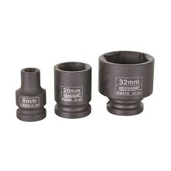 KINCROME IMPACT SOCKET 1/2 INCH DVE 9MM K2287