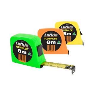 LUFKIN TAPE 8MX25MM FLURO Fl48vsi