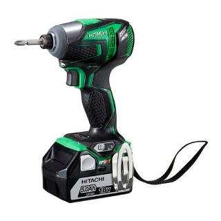 HIT 18V IP56 IMPACT DRIVER KIT, BRUSHLESS MOTOR, 2X4.0AH WH18DDL[HW]