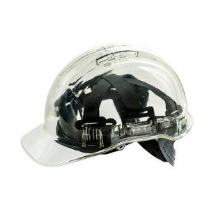 CLEARWIEW HARD HAT VENTED CLEAR