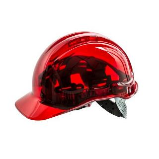 CLEARWIEW HARD HAT VENTED RED
