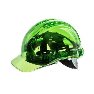 CLEARVIEW HARD HAT VENTED GREEN