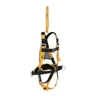 LINESMANS HARNESS COMPLETE WITH REAR EXT-PADDED LINESMANS BELT