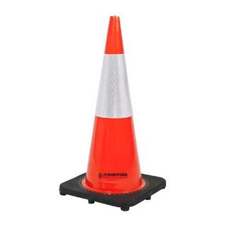 FRONTIER TRAFFIC CONE REFLECT TAPE 700MM PVC