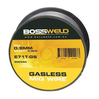 BOSSWELD GASLESS MS MIG 0.9MM X0.9KG 200344