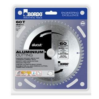BORDO SAW BLADE ALUM 184MM 60T ALUCUT 7454-18460