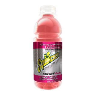 SQWINCHER 600ML READY TO DRINK STRAWBERRY LEMONADE SQ030536-SL