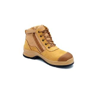 BLUNDSTONE SAFETY BOOTS SIZE10 WHEAT STYLE 318