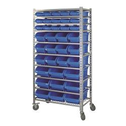 KINCROME MOBILE STORAGE RACK 36 BIN K7107